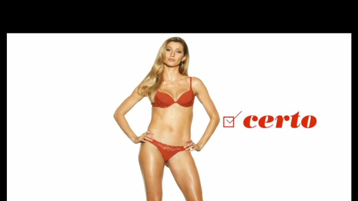 bb52befe67 Gisele Bündchen Lingerie Ad Dubbed Sexist by Brazil Ministry