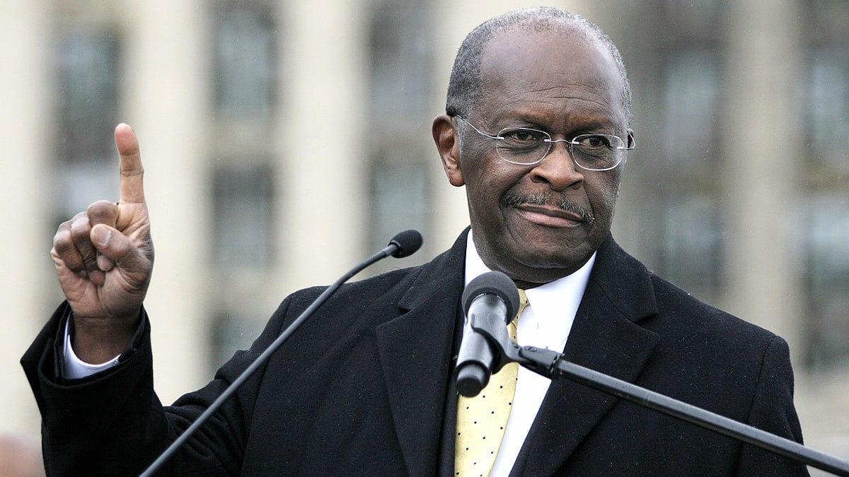 Herman Cain Is Obsessed With Signs and Symbols