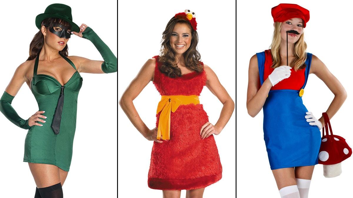 Sluttty halloween costumes