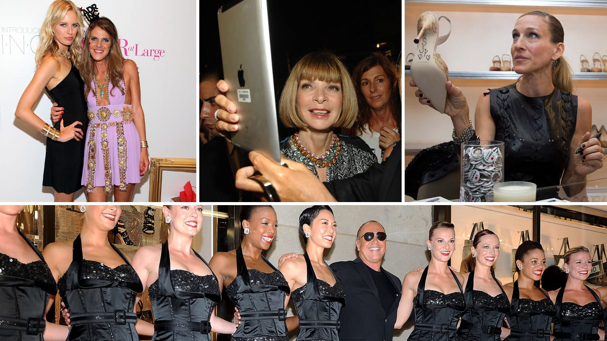 Fashions Night Out 2011 Justin Bieber Anna Wintour And More See