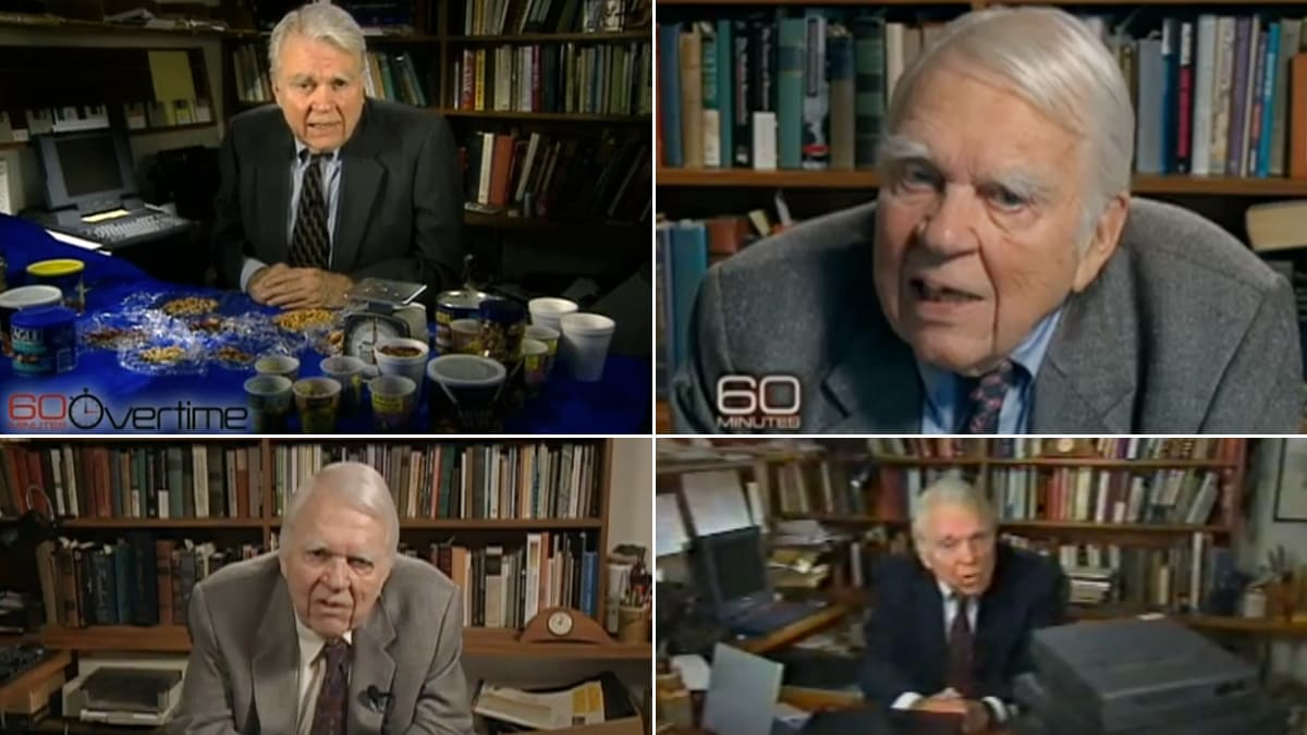 Andy rooney final essay youtube