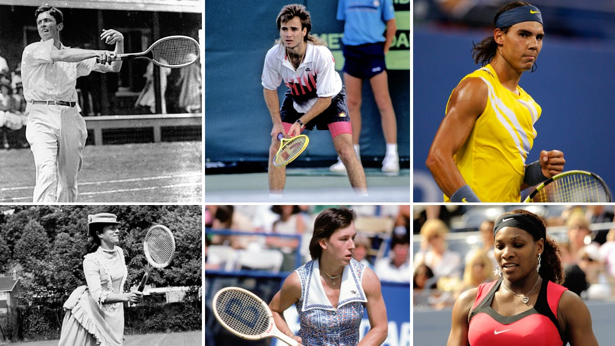 Evolution Of Tennis Fashion Photos Of Andre Agassi Serena Williams And More