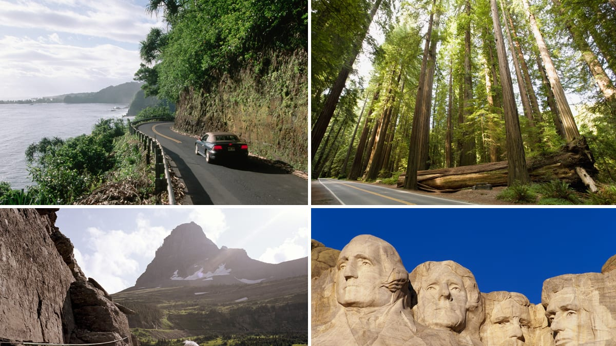 Best Scenic Drives In The United States Photos
