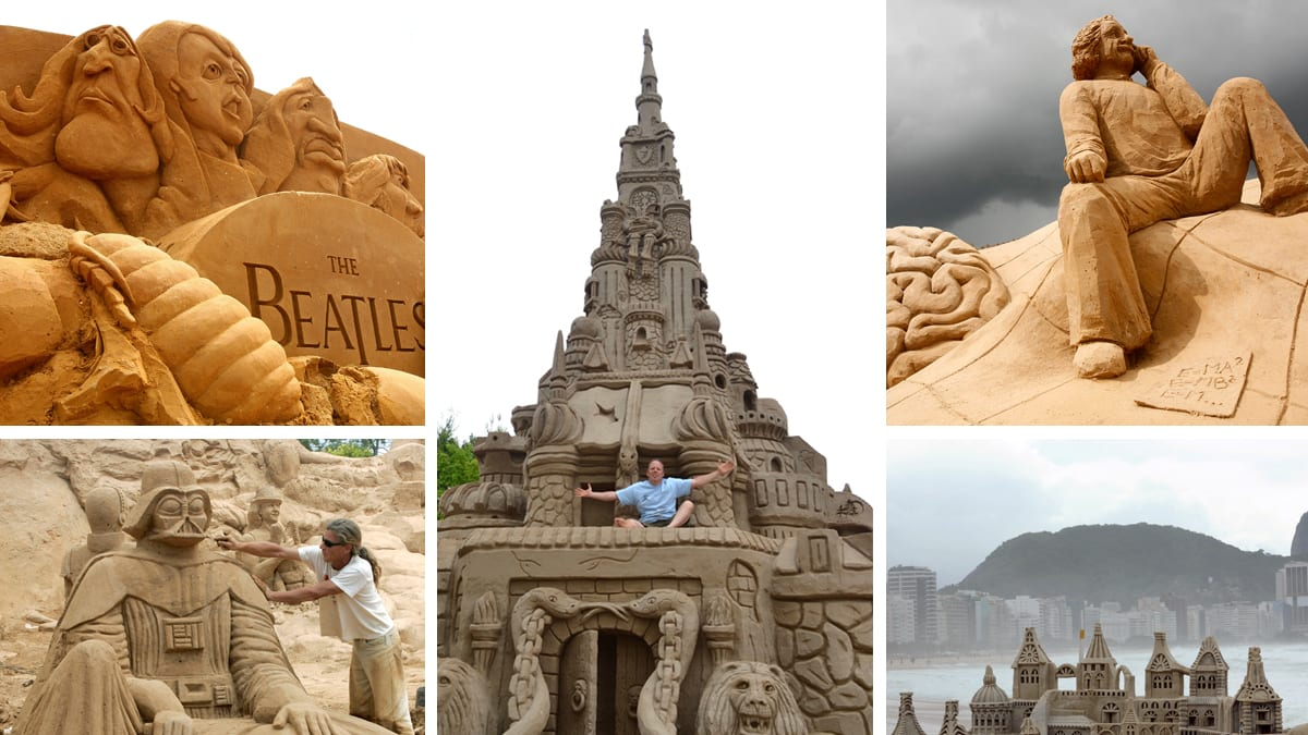 Worlds Most Amazing Sand Castles Photos - The 10 coolest sandcastle competitions in the world