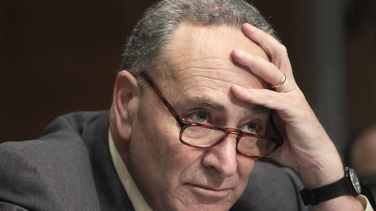 Sen  Chuck Schumer Quiet While Anthony Weiner Implodes Over