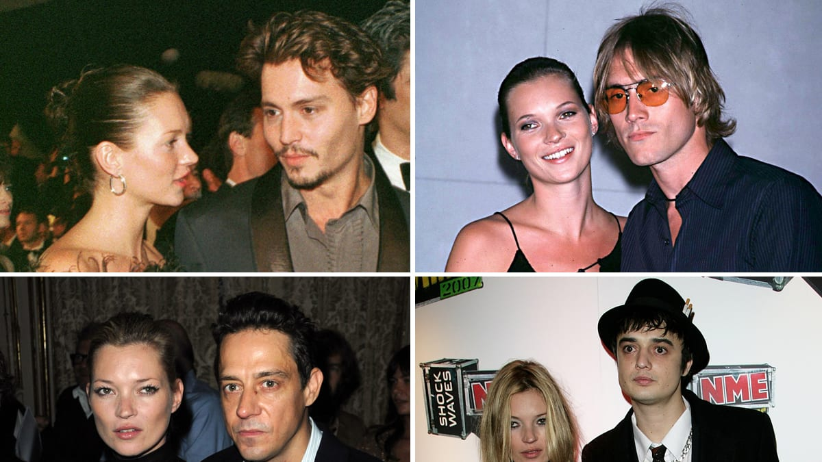 kate moss wedding photos of her exes pete doherty johnny