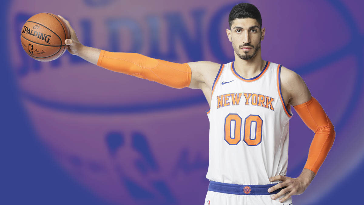 more photos 1b161 4456c The Trials of NBA Star Enes Kanter, Erdogan's Public Enemy ...