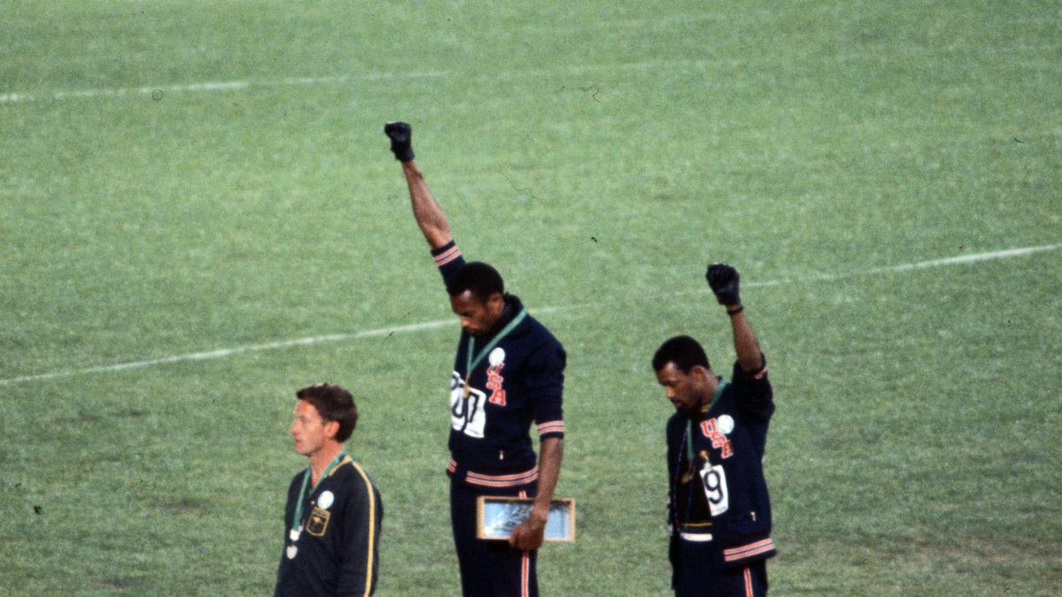 The Double Standard for Black Athletes Began Long Before Trump. Just Ask Tommie Smith and John Carlos.