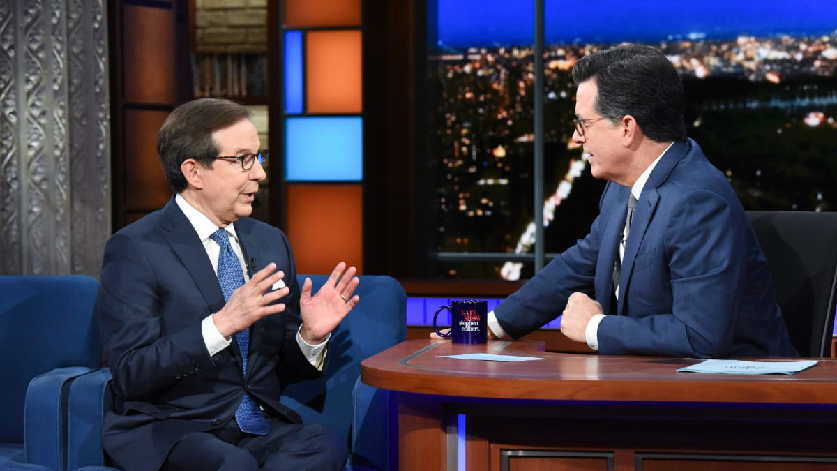 Colbert shames FOX's Chris Wallace on immigration
