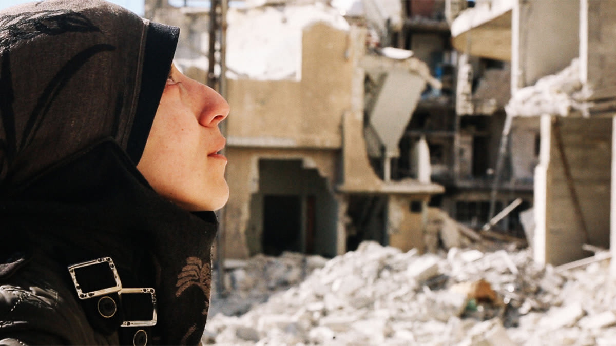 As Bombings Destroyed Syria, She Moved Her Hospital Underground