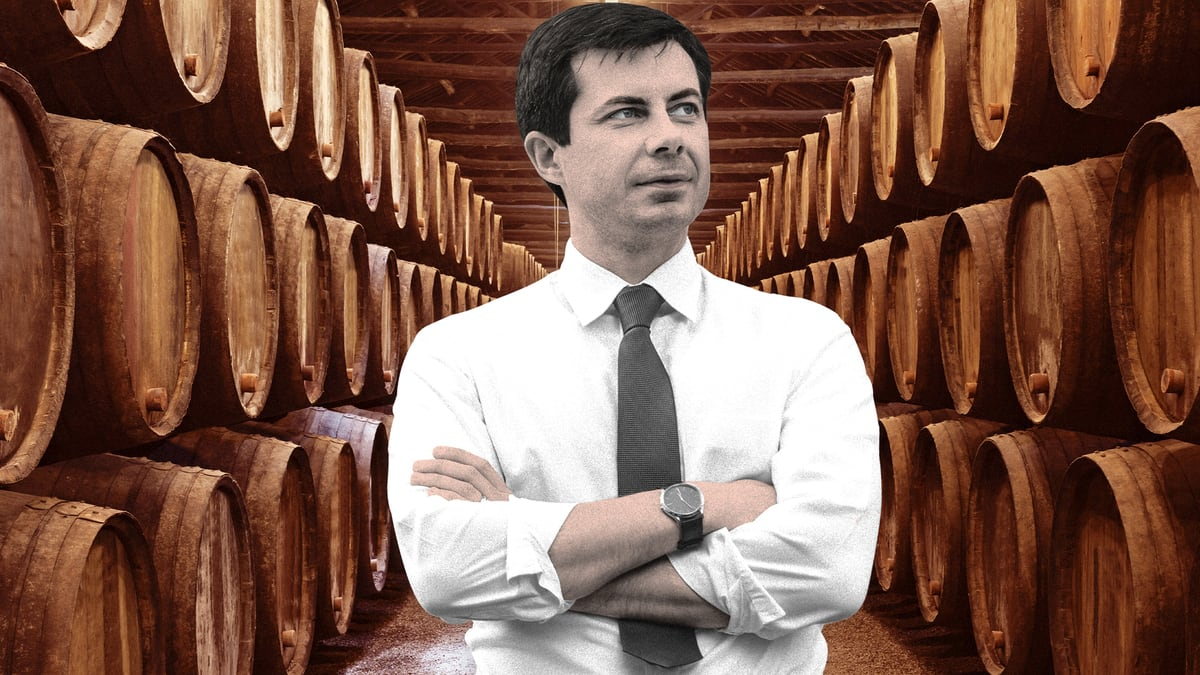The Shady History of Mayor Pete's Wine Cave—and the Ultra-Rich Couple That Owns It