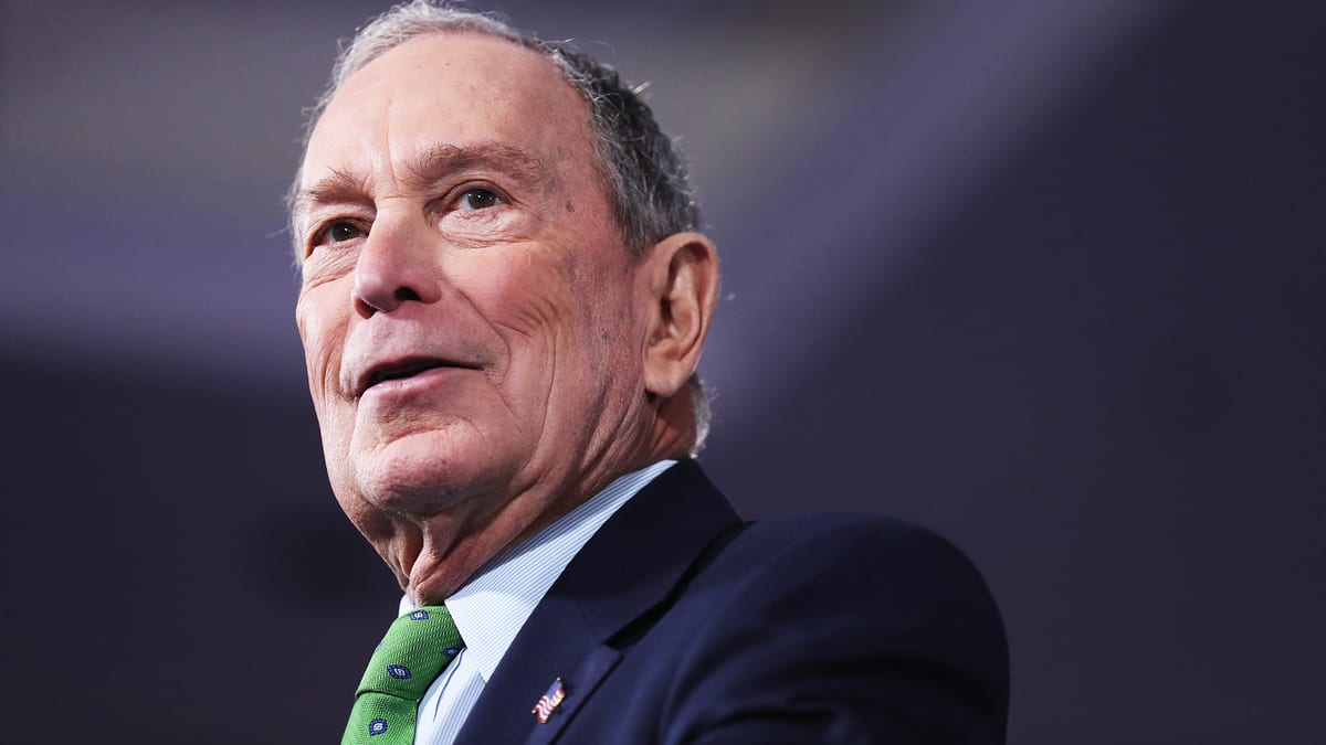 Bloomberg Once Said Taking From The Rich Was a Bigger Problem Than Income Inequality
