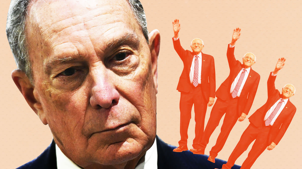 Savage Bloomberg or Criticize Bernie? Dems Like the Easy Option