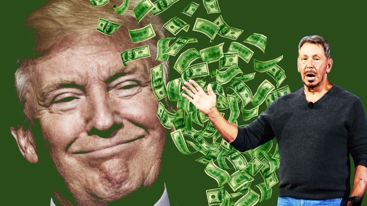 Oracle Employee Speaks Out Against Her Boss Raising Money for Trump