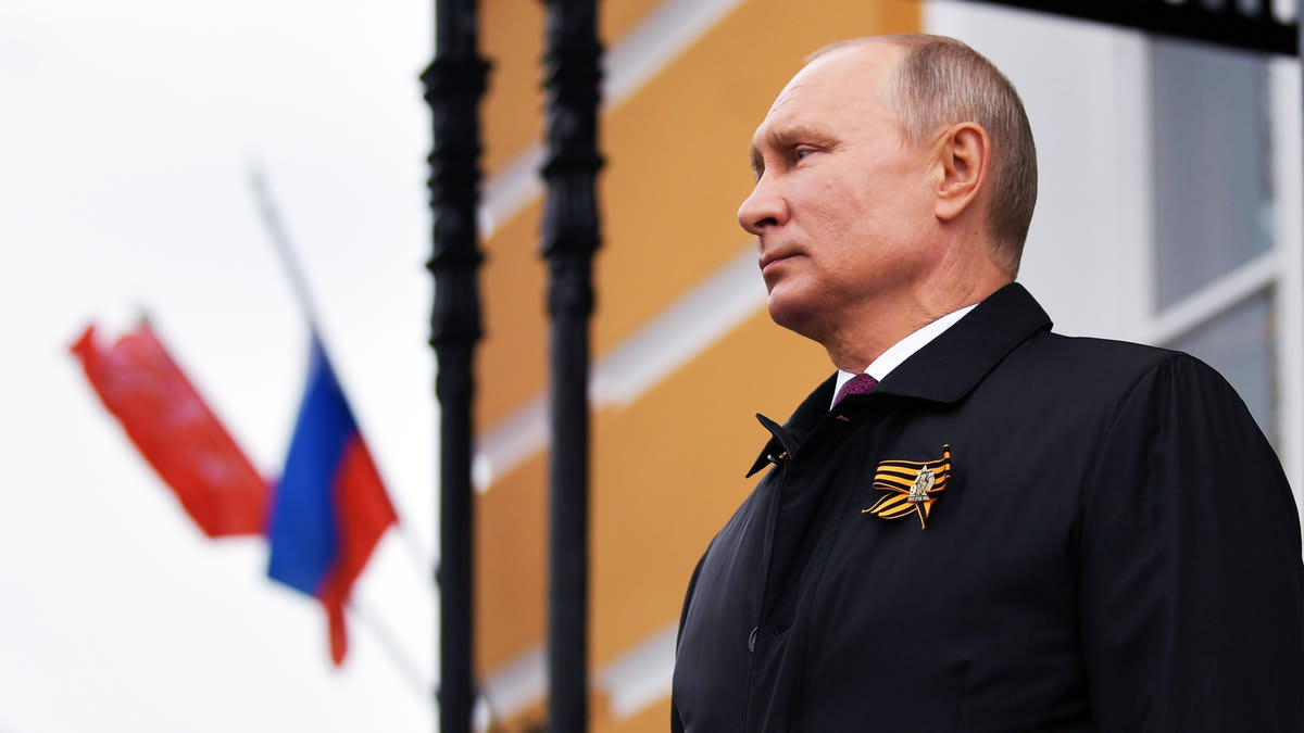 Russian President Vladimir Putin Is In Some Deep Trouble
