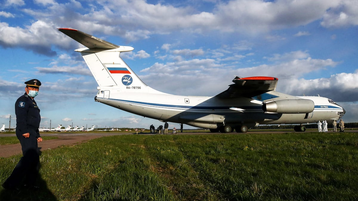 The Sinister Fiction of Russian Aid to the COVID-Plagued World
