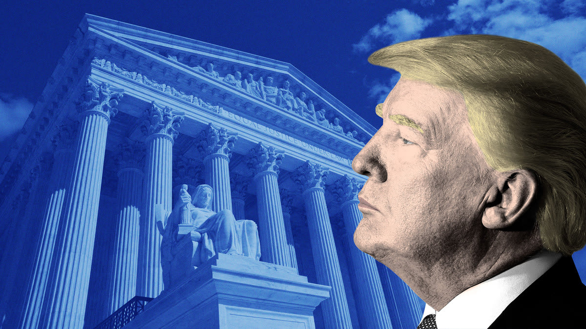 Trump Aides Not Sweating His Supreme Court Taxes...