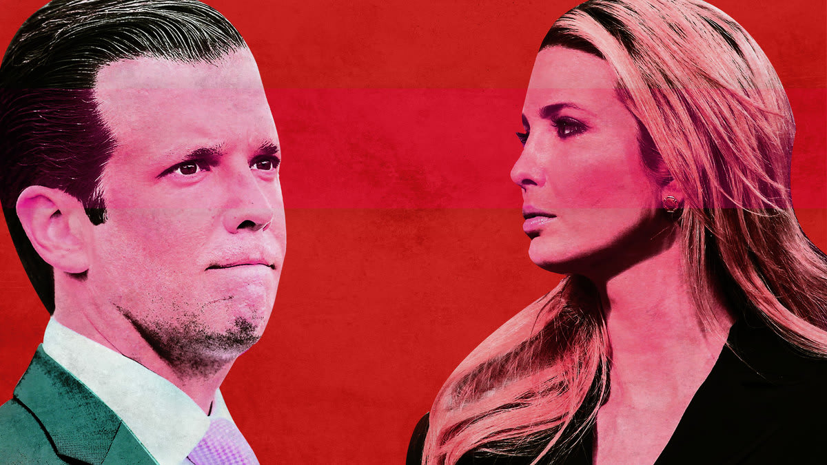 Ivanka and Don Jr. Were Doing So Great Til Daddy Screwed It All Up