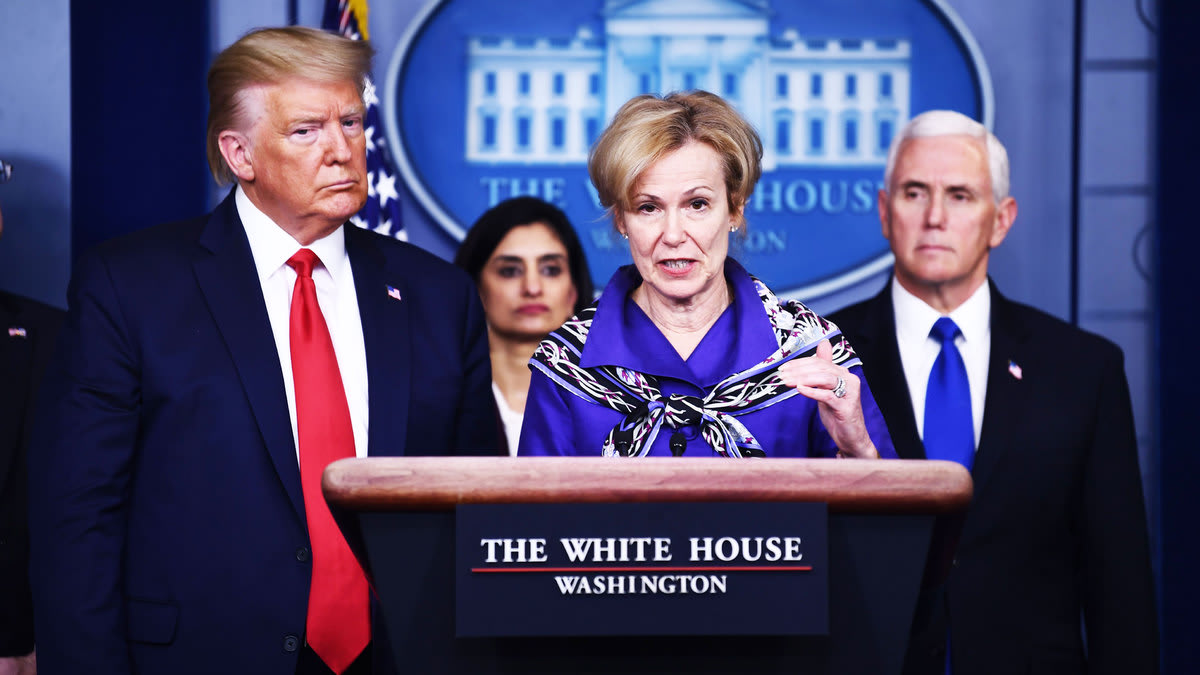 Trump Attacks Dr. Birx In An Attempt to Keep a Loyal Soldier In Line