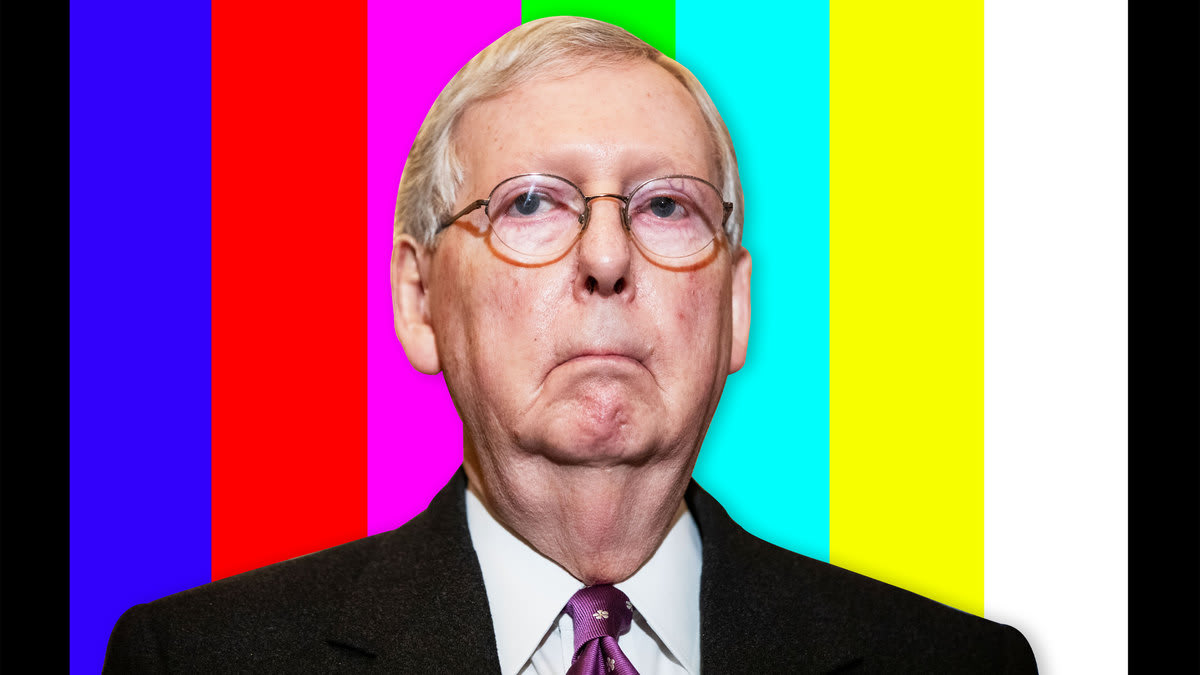 Mitch McConnell Is About to Punch America in the Penis