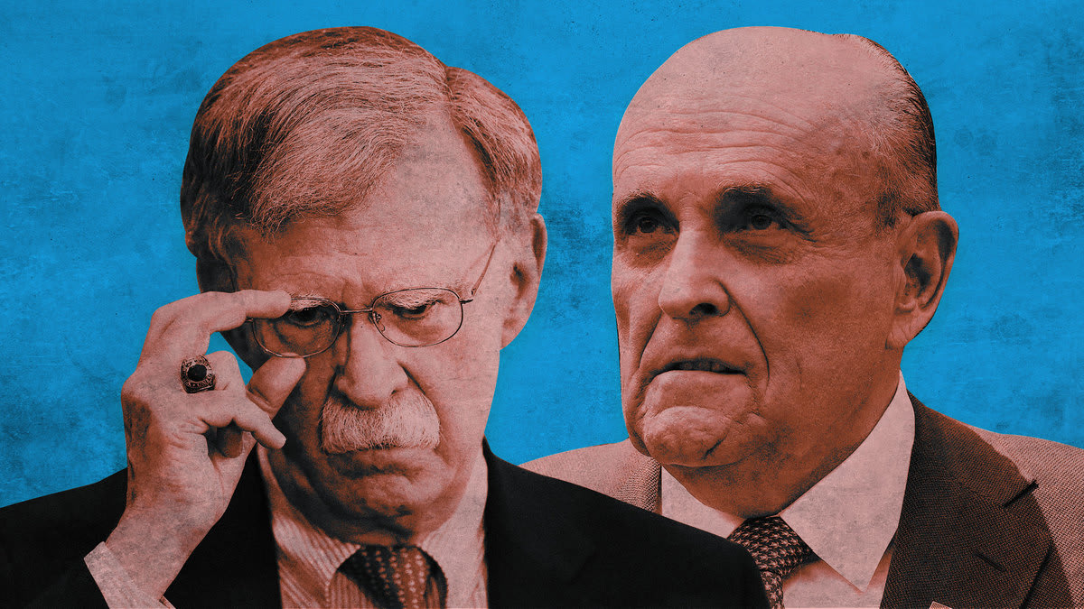 Bolton Warned His Staff To Stay Away From Russia-Aligned Rudy Giuliani
