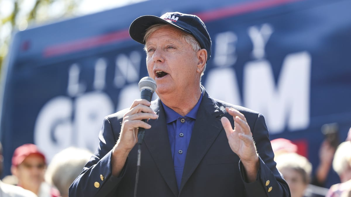 Graham's Bitter Closing Pitch: Libs Hate Me, So Vote for Me