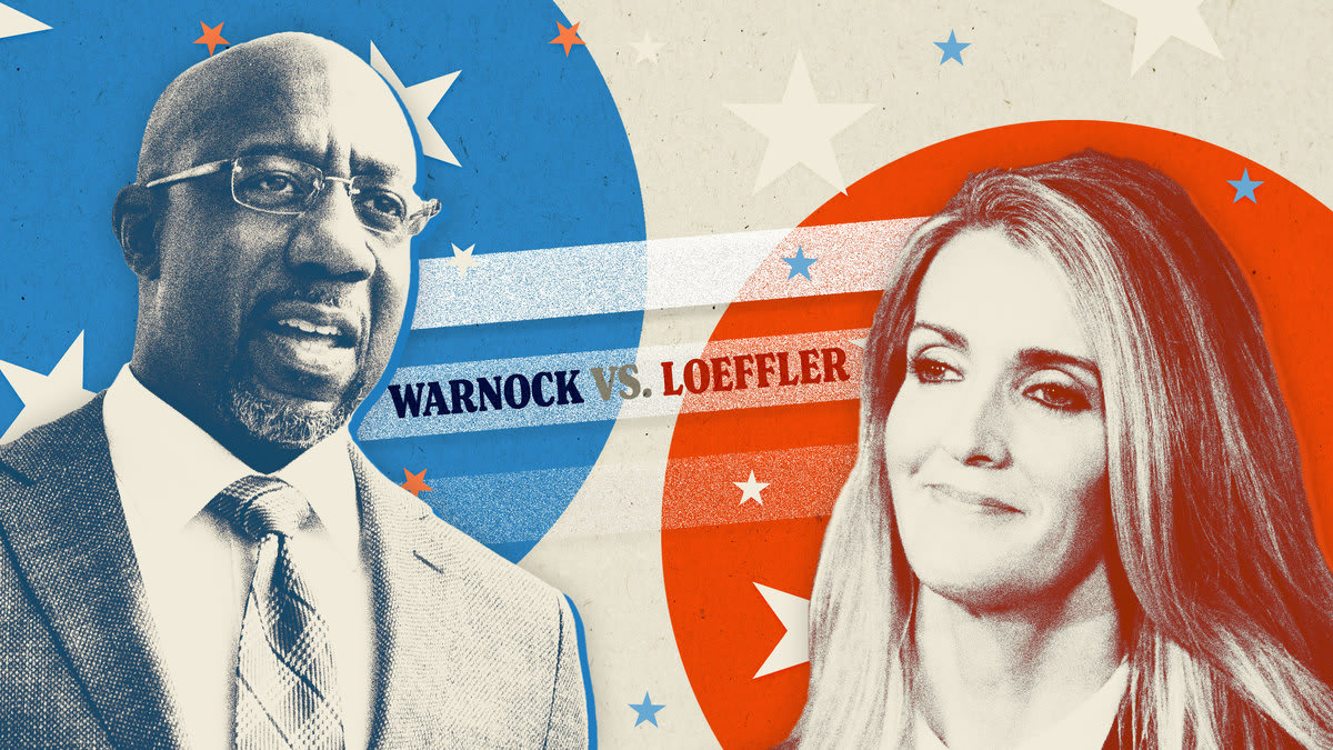 Kelly Loeffler to Face Off Against Raphael Warnock for Georgia's Senate Seat