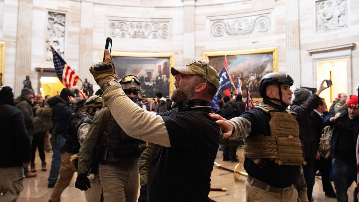 Capitol Rioters Keep Outing Themselves on Social Media
