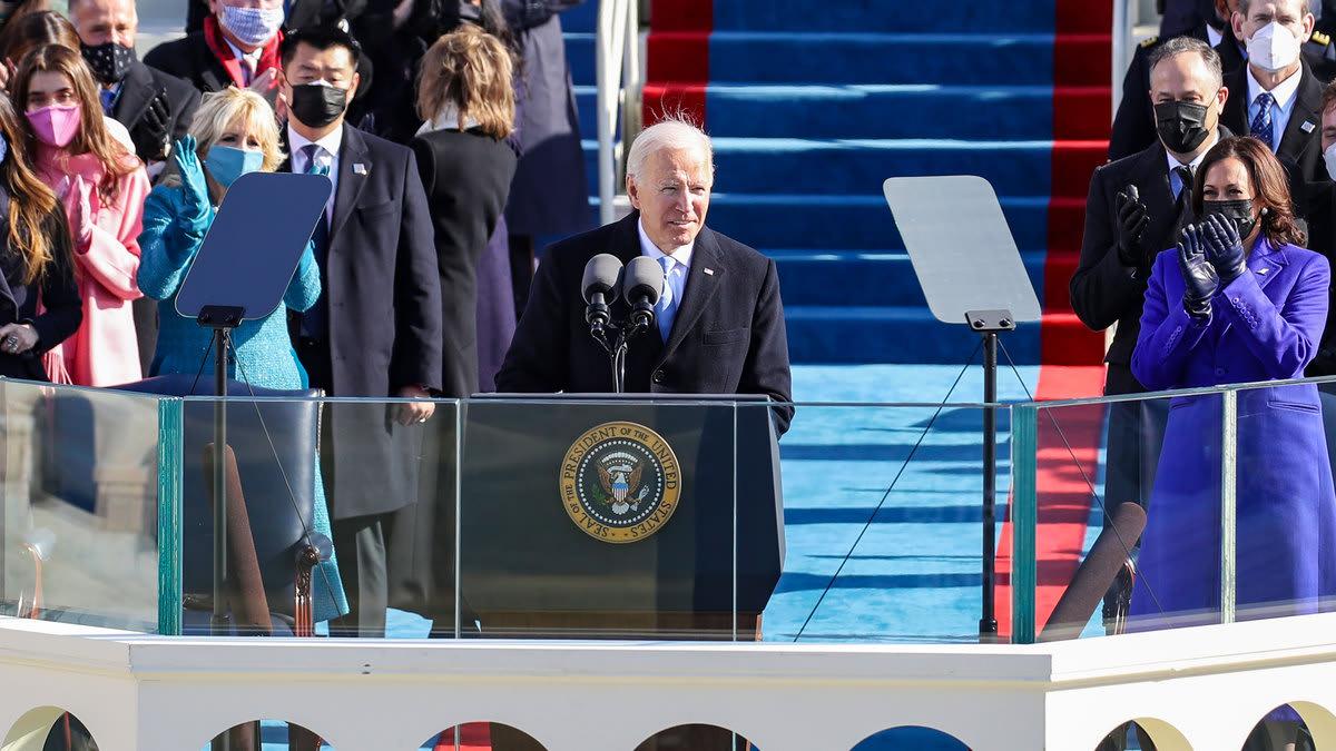 President Joe Biden's Plea for America: 'End this Uncivil War'