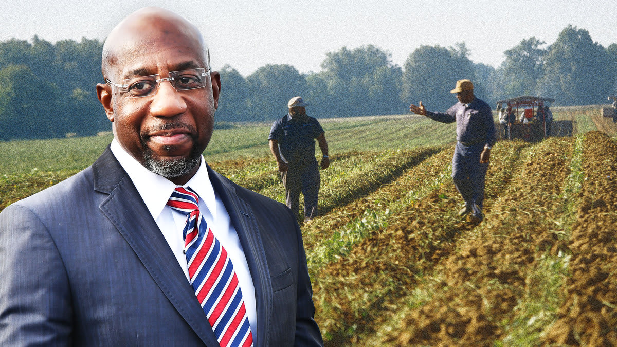 America Finally Delivers for Black Farmers—Thanks to Raphael Warnock