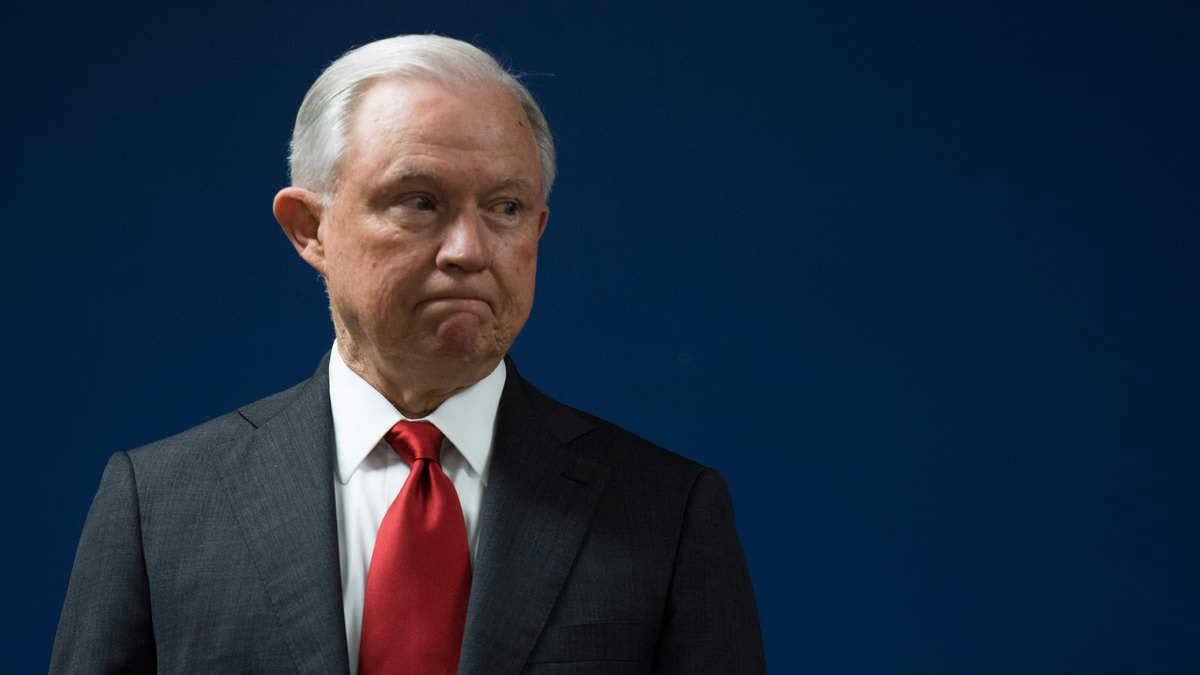 Jeff Sessions Claims He's Clueless About His DOJ's Snooping on Congress
