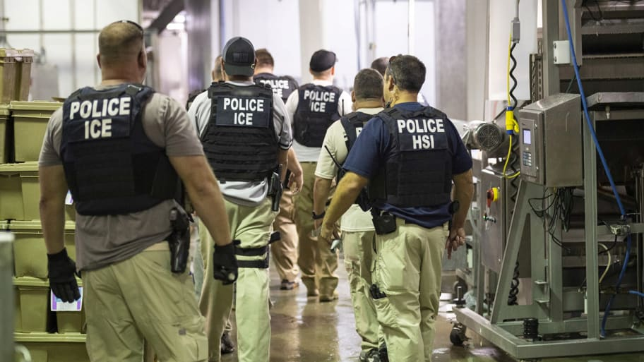 Immigration and Customs Enforcement Handout via Reuters
