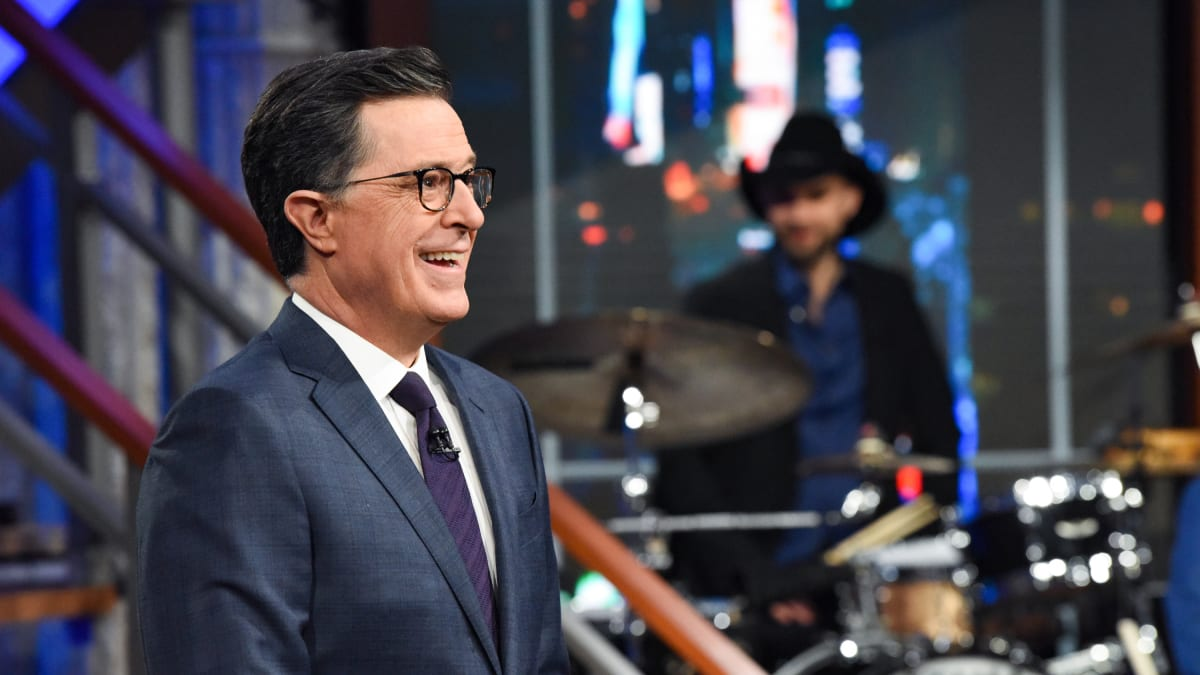 Stephen Colbert Spends MLK Day Mocking Melania Trump: She Wants to Be 'Free at Last'