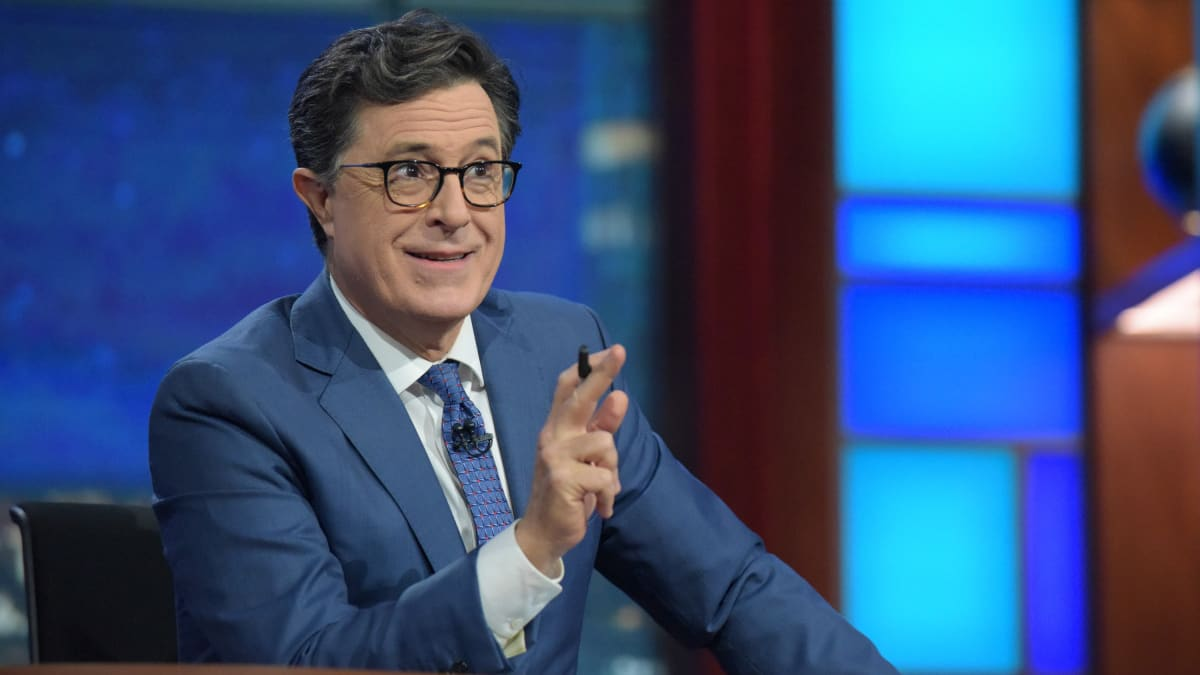 Stephen Colbert Goes Off on Trump Over Russia's Election Interference