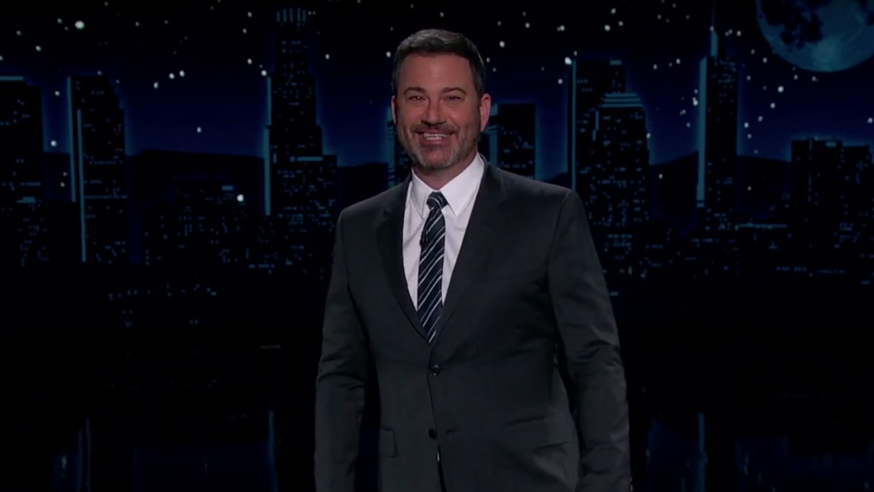 Jimmy Kimmel Gleefully Roasts Donald Trump, Jr. for Getting COVID