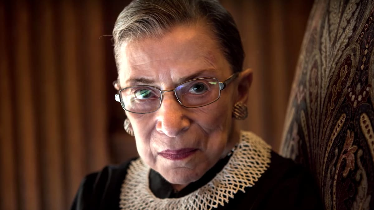 How Supreme Court Justice Ruth Bader Ginsburg Became a Rock Star