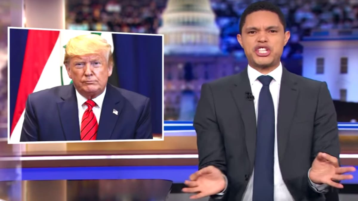 Trevor Noah Goes Off on Trump for Blocking Impeachment: 'What a Completely Innocent Thing to Do!'