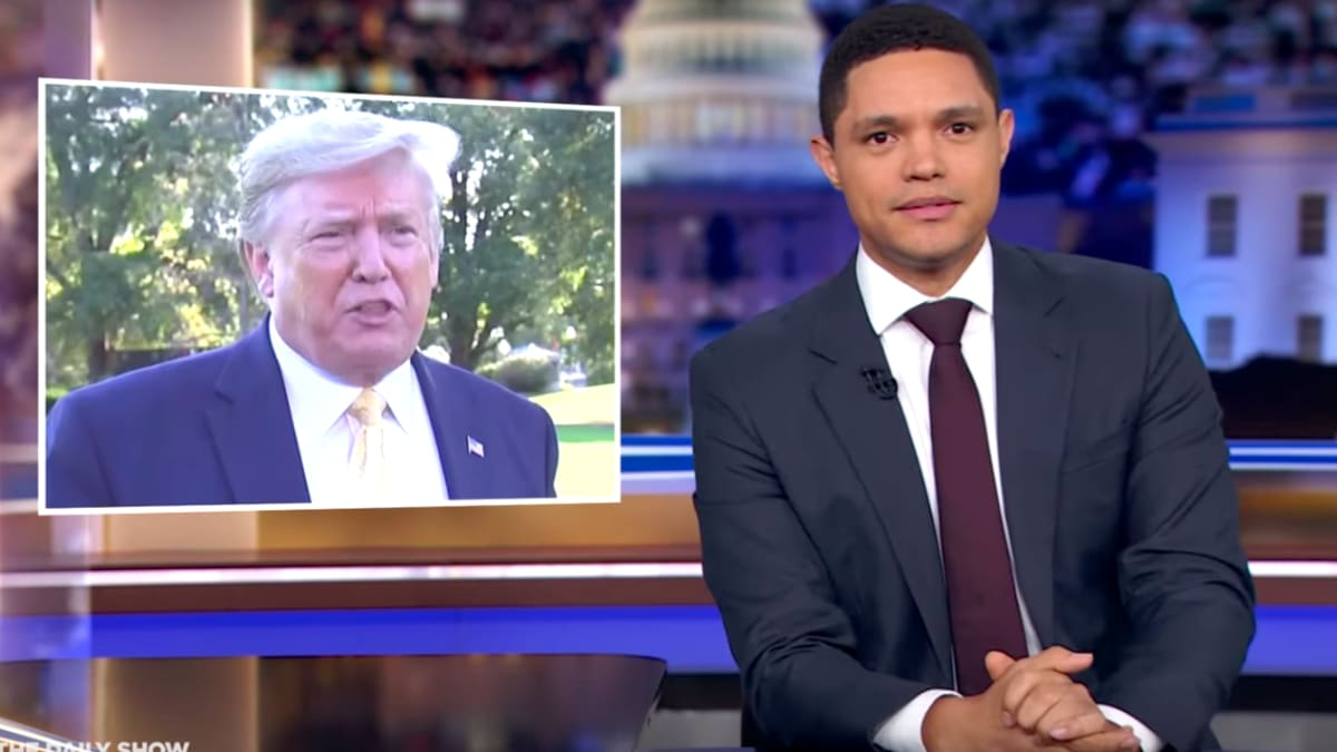 Trevor Noah Accuses Trump of 'Renting' U.S. Military to Saudi Arabia