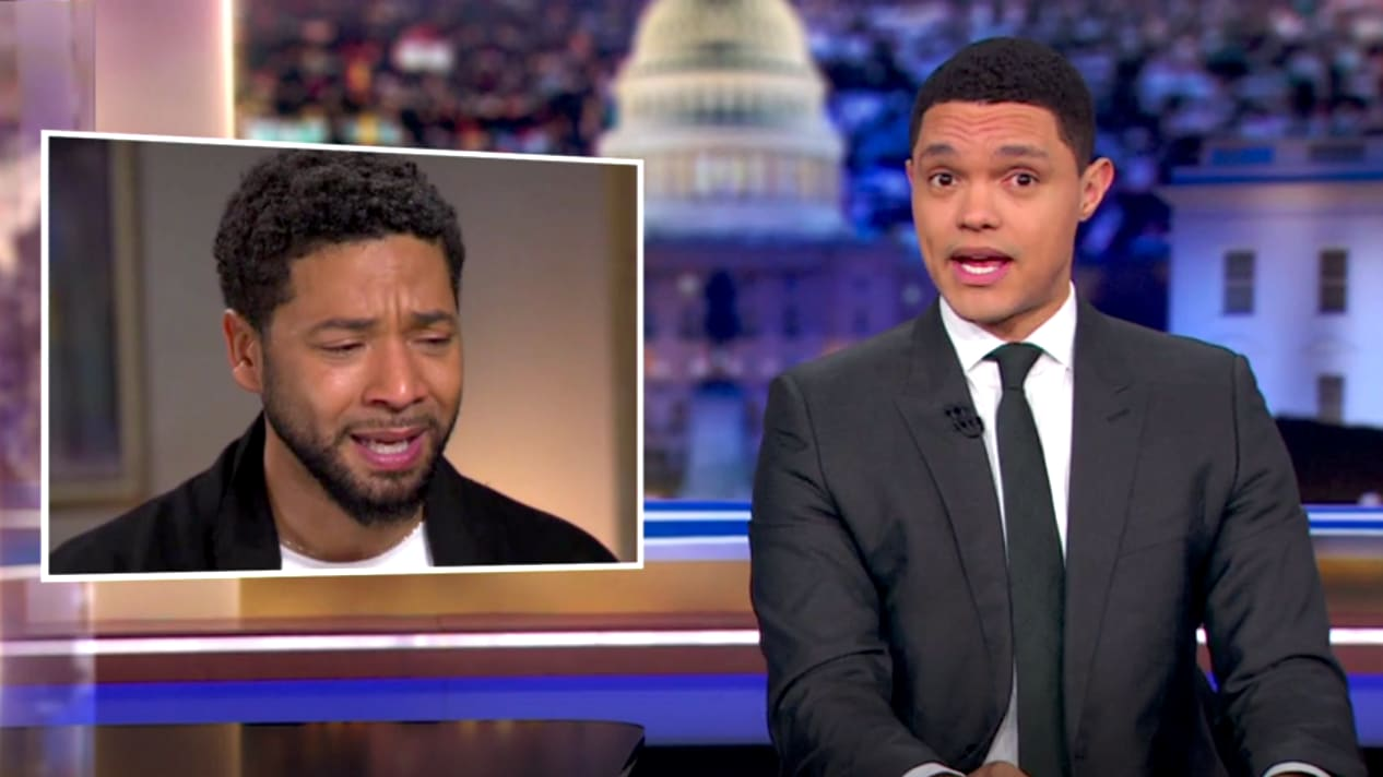 'Daily Show's' Trevor Noah: Jussie Smollett's Attack Story 'Was Always a Little Weird'
