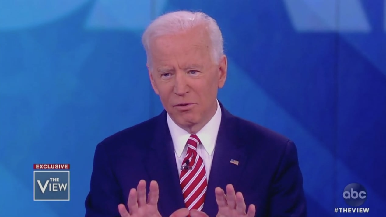 Big Joe Auto >> Biden Gives Bumbling Apology as 'The View' Confronts Him on Creepy Touching, Anita Hill