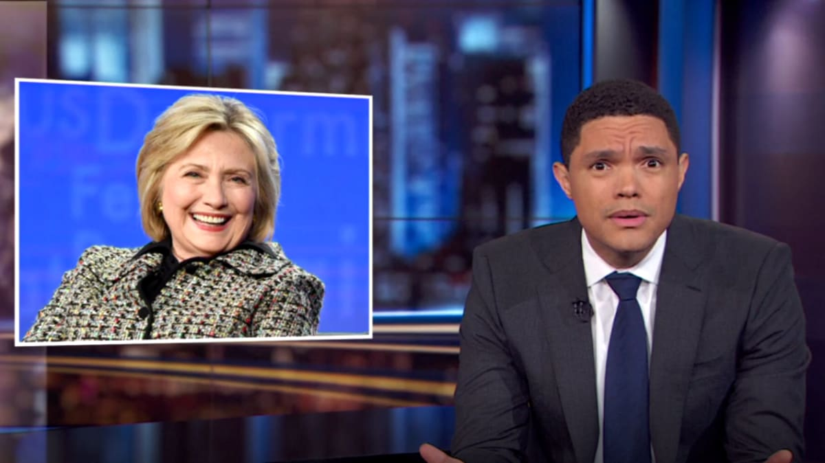 Trevor Noah Drags Hillary Clinton for Slamming Bernie Sanders, Says 'Not the Time to Reopen Old Wounds'