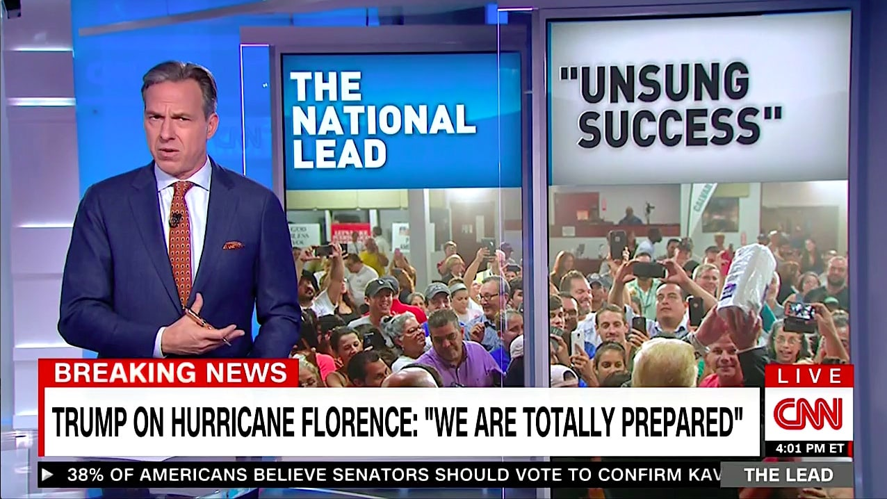 Jake Tapper: Is Trump 'Unaware' 3,000 People Died in Puerto Rico After Hurricane Maria?