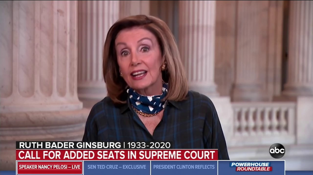 Pelosi Won't Rule Out Impeachment to Block Trump SCOTUS Pick