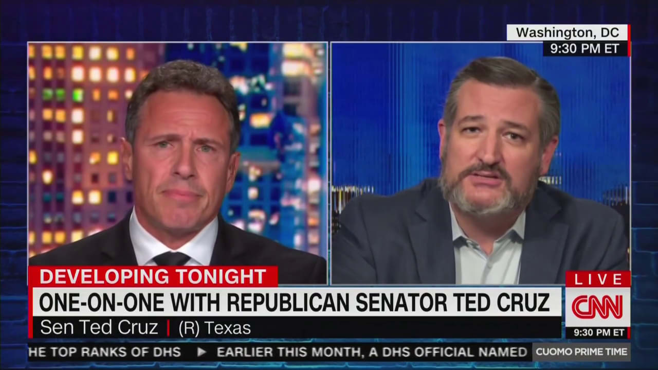 Chris Cuomo Eviscerates Ted Cruz: Why Won't You Stand Up for Your Wife?