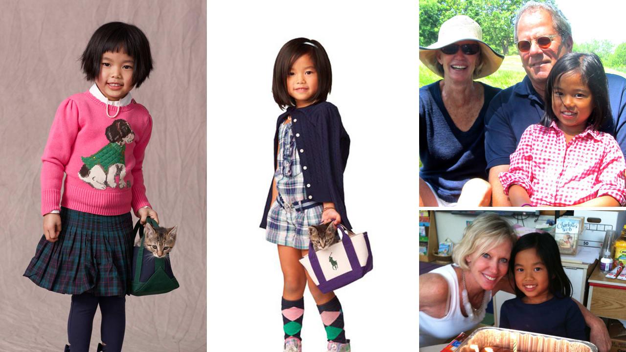 bbf1ece67 Ralph Lauren Child Model Journeys From Roadside to Runway