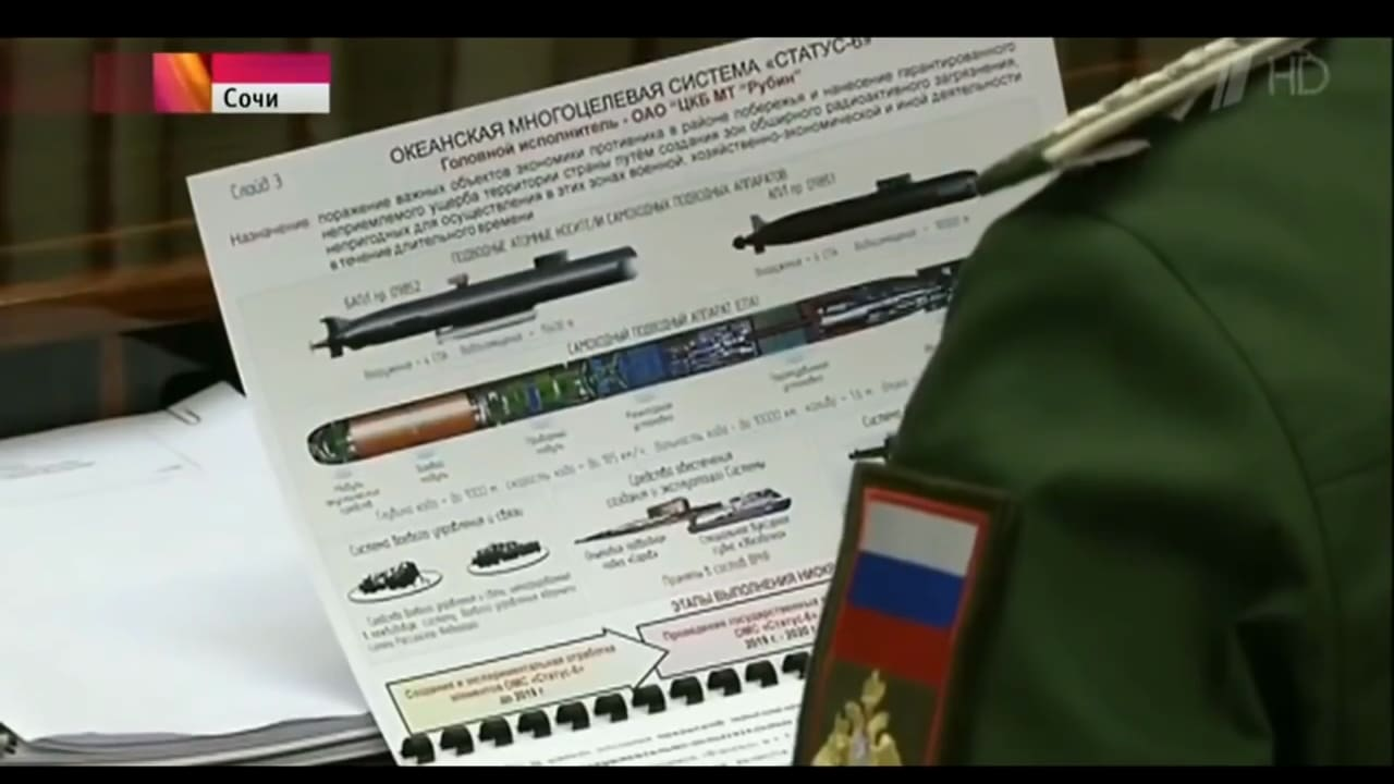 Has Russia's Robotic Nuclear Torpedo Surfaced?