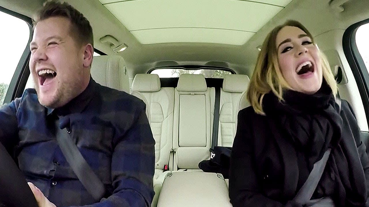 Adele Raps Nicki Minaj and Sings Spice Girls in Epic Carpool Karaoke Session