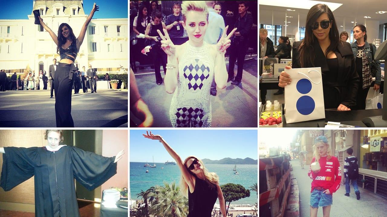 Miley Cyrus, Roberto Cavalli & More Fashion Instagrams (PHOTOS)