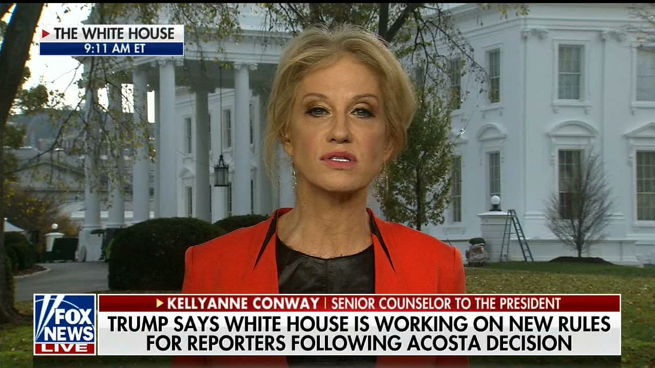 Trump Wants To Ban Acosta Again Kellyanne Conway Only