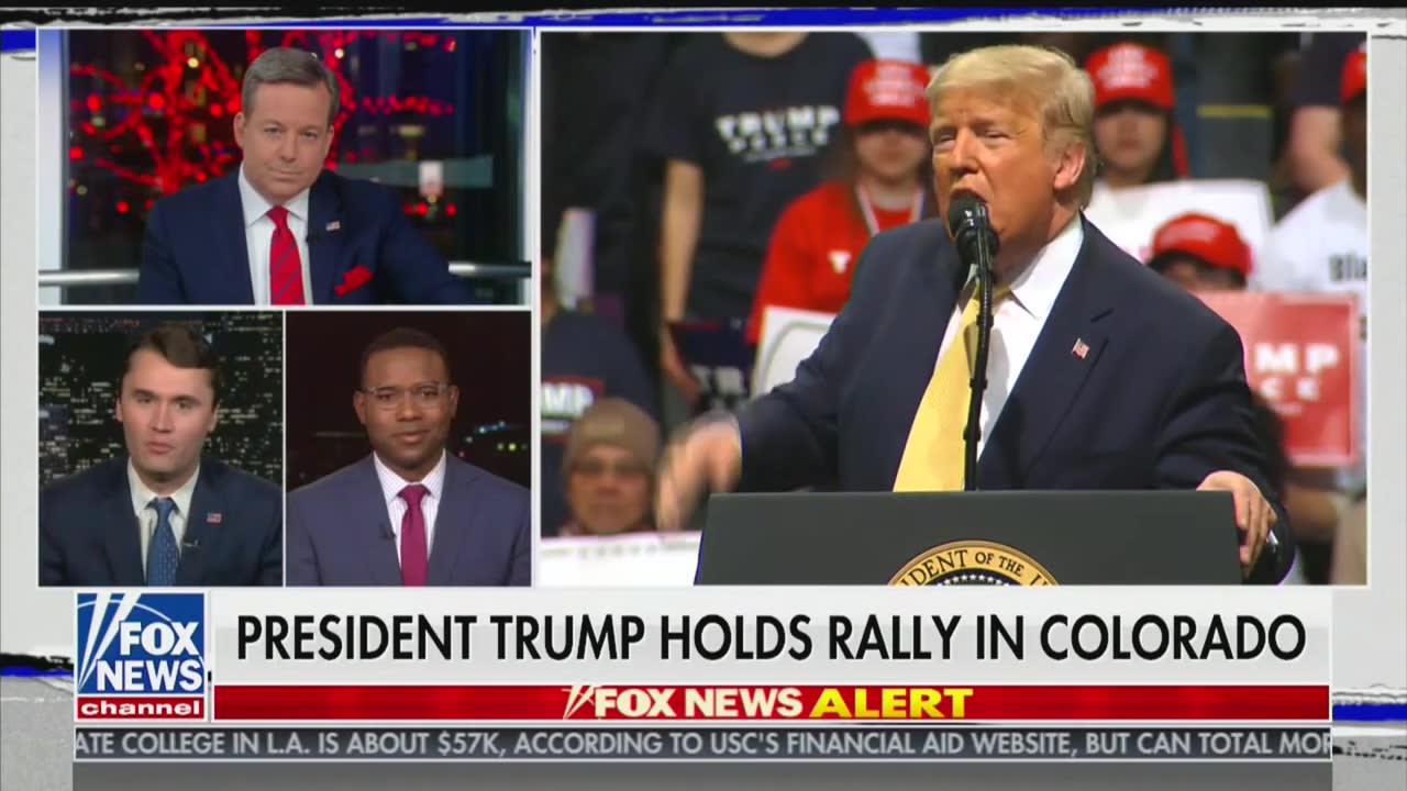 Trump Attacks Fox News' Neil Cavuto at Rally, Fox Personalities Immediately Jump to Cavuto's Defense